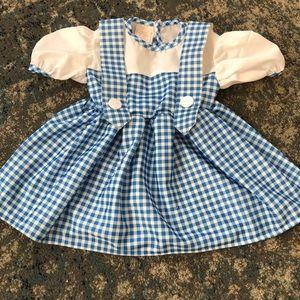 size 1-2 rubie's dorothy costume